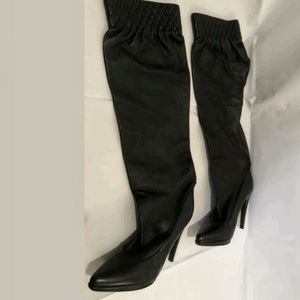 Casadei butter soft leather knee high boots